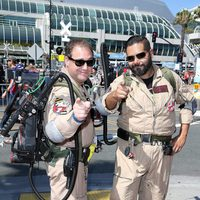 'Ghostbusters' Cosplay attend the Comic-Con International 2016