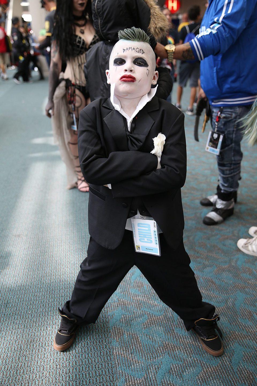 Cosplay del Joker en la Comic-Con de San Diego 2016