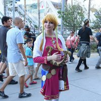 Zelda Cosplay attend the Comic-Con International 2016