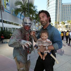 Cosplay de 'The Walking Dead' en la Comic-Con de San Diego 2016