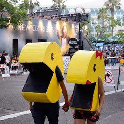 Cosplay de Pac-Man en la Comic-Con de San Diego 2016