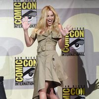 Margot Robbie durante la Comic-Con 2016