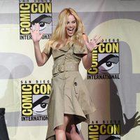 Margot Robbie durante la Comic-Con 2016