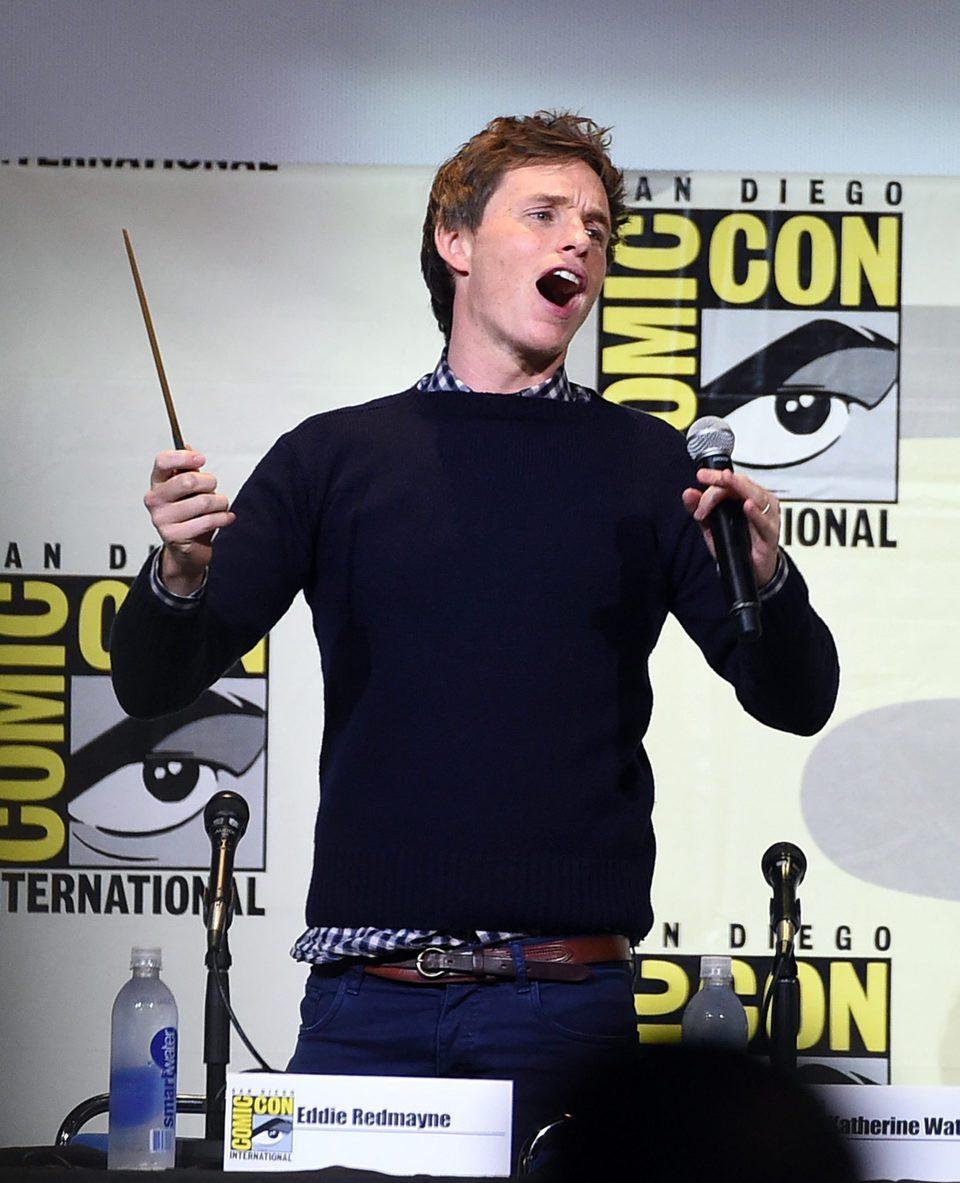 Eddie Redmayne en la Comic-Con 2016
