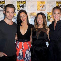 El equipo de 'Wonder Woman'