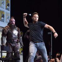 Chris Pratt efusivo en la Comic-Con
