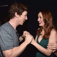 Benedict Cumberbatch con Brie Larson