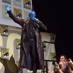 Michael Rooker maquillado en la Comic-Con