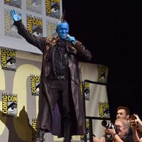 Michael Rooker make up at Comic-Con