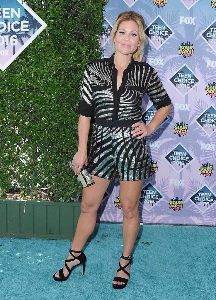 Candance Cameron Bruce en la alfombra roja de los Teen Choice Awards 2016