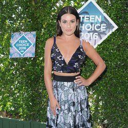 Lea Michele en la alfombra roja de los Teen Choice Awards 2016