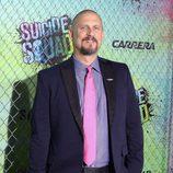 David Ayer en la premiere mundial de 'Escuadrón Suicida'
