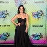 Corina Calderon en la premiere mundial de 'Escuadrón Suicida'