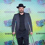 David Harbour en la premiere mundial de 'Escuadrón Suicida'