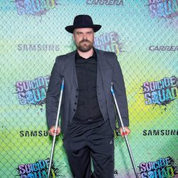 David Harbour at the 'Suicide Squad' world premiere