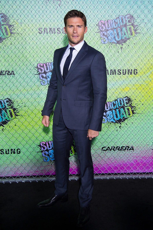 Scott Eastwood at the 'Suicide Squad' world premiere