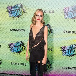 Cara Delevingne at the 'Suicide Squad' world premiere