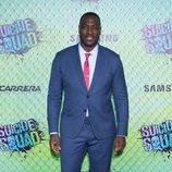 Adewale Akinnuoye-Agbaje en la premiere mundial de 'Escuadrón Suicida'