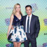 Jay Hernandez y Daniella Deutscher en la premiere de 'Escuadrón Suicida'