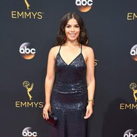 America Ferrera at the Emmys 2016 red carpet
