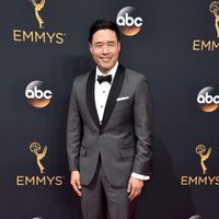 Randall Park at the Emmys 2016 red carpet