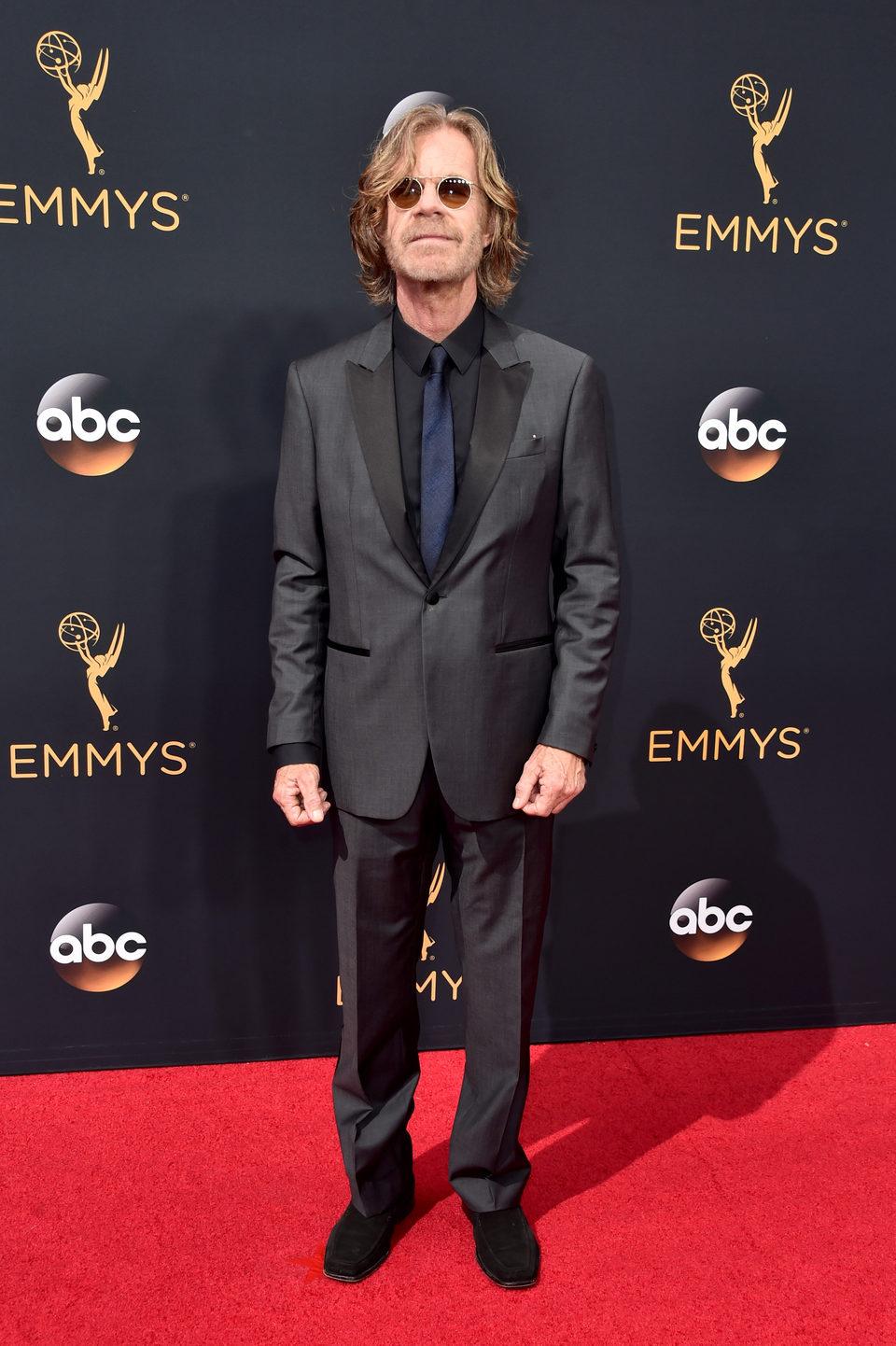 William H. Macy en la alfombra roja de los Emmy 2016