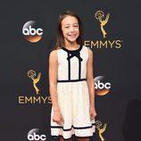 Aubrey Anderson-Emmons en la alfombra roja de los Emmy 2016
