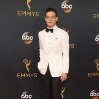 Rami Malek at the Emmys 2016 red carpet