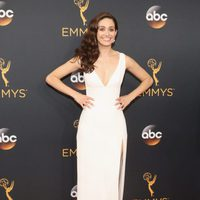 Emmy Rossum at Emmys 2016 red carpet
