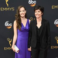 Tig Notaro and Stephanie Allyne at Emmy 2016 red carpet