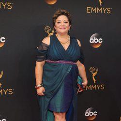 Sol Miranda en la alfombra roja de los Emmy 2016