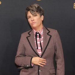 Jill Soloway en la alfombra roja de los Emmy 2016