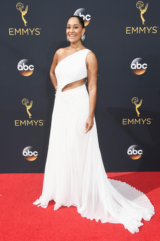 Tracee Ellis Ross en la alfombra roja de los Emmy 2016