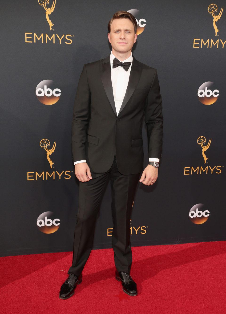 Martin Wallstrom en la alfombra roja de los Emmy 2016