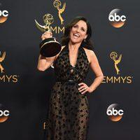 Julia Louis-Dreyfus tras la ceremonia de los Emmy 2016
