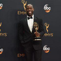 Sterling K. Brown tras la ceremonia de los Emmy 2016