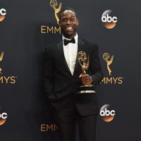 Sterling K. Brown tras la ceremonia de los Emmy 2016