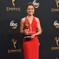 Tatiana Maslany tras la ceremonia de los Emmy 2016