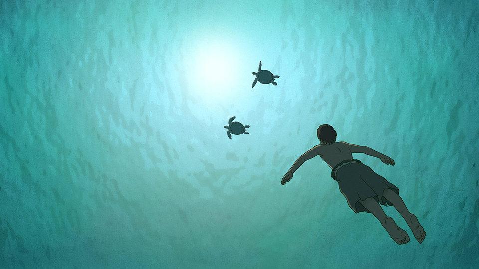 La tortuga roja, fotograma 5 de 24