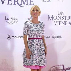 Cayetana Guillén Cuervo en la premiere de 'Un monstruo viene a verme'