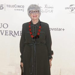 Concha Velasco en la premiere de 'Un monstruo viene a verme'