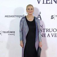 Cristina Cifuentes en la premiere de 'Un monstruo viene a verme'