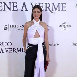 Dafne Fernández en la premiere de 'Un monstruo viene a verme'