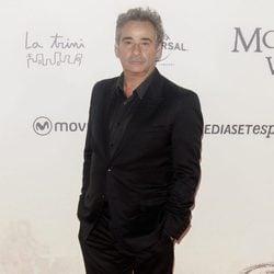 Edurard Fernández en la premiere de 'Un monstruo viene a verme'