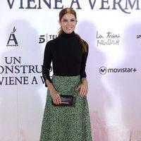 Juana Acosta en la premiere de 'Un monstruo viene a verme'