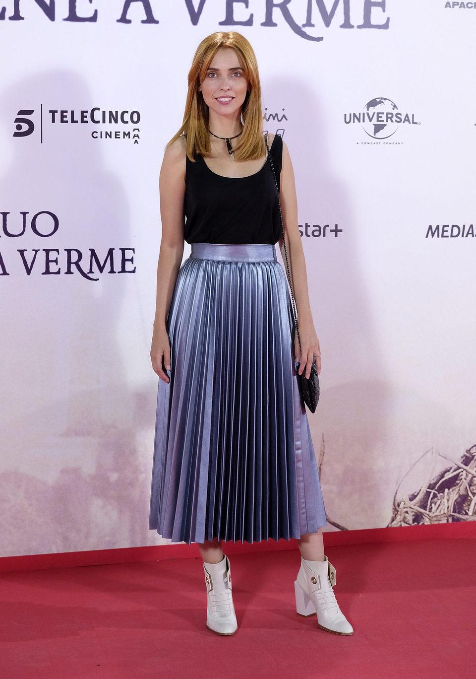 Leticia Dolera en la premiere de 'Un monstruo viene a verme'