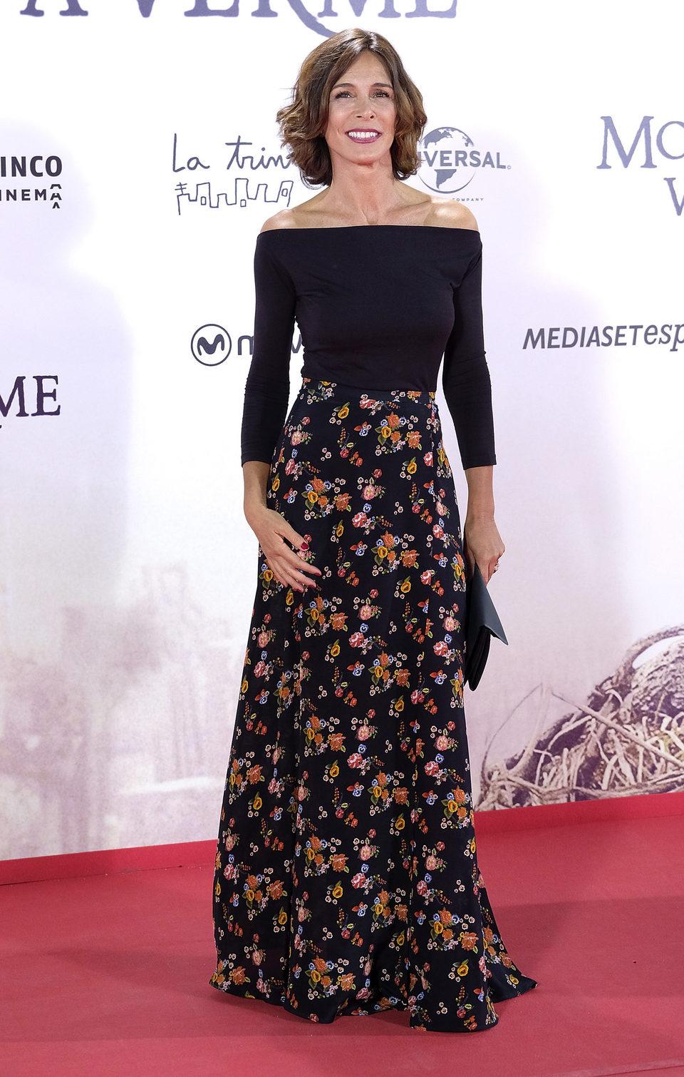 Lidia Bosh en la premiere de 'Un monstruo viene a verme'