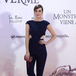 Natalia de Molina en la premiere de 'Un monstruo viene a verme'