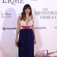Sara Sálamo en la premiere de 'Un monstruo viene a verme'