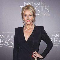 J.K. Rowling en la premiere mundial de 'Animales fantásticos y dónde encontrarlos'